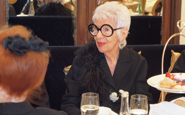 Iris Apfel  photo by Rob Rich © 2011 robwayne1@aol.com 516-676-3939