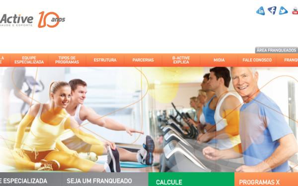 B-Active academia site