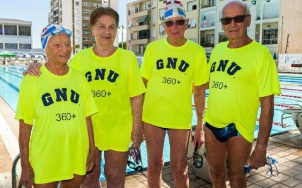 Foto da Best Swimmings editada pelo jornalista especializado em natação Alexandre Pussield